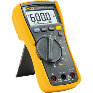 PROMOTION: Fluke 115 multimeter with safety kit TLK-225-1 FLUKE 4759465