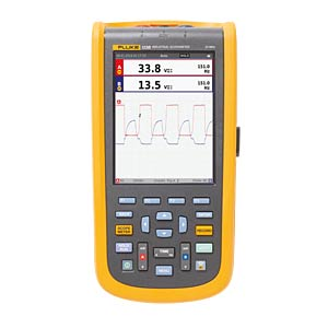 Handheld-Oszilloskop ScopeMeter® 123B/S für Industrie, Set FLUKE 4755890