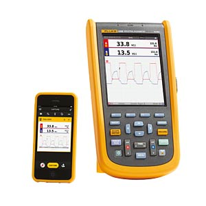 Fluke 120B Series Industrial ScopeMeter® Set FLUKE 4756054