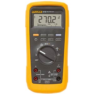 Multimeter 27-II, digital, 6000 Counts, für Industrie FLUKE 3947770