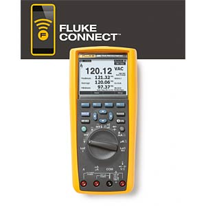 Multimeter 289 + ViewForms, digital, 50000 Counts FLUKE 3947812