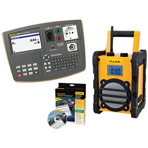 Special offer: Fluke 6500-2 + construction site radio FLUKE 4710084