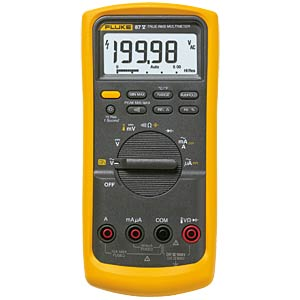 Multimeter 87V, digital, 19999 Counts, TRMS FLUKE 3947858