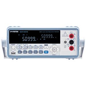 Bench multimeter, 50,000 Counts, USB, GPIB GW-INSTEK 01DM834210GS