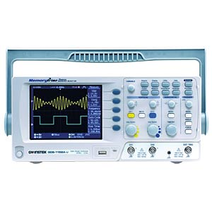 Digital Storage Oscilloscope with USB, 150 MHz, 2 CH GW-INSTEK 01DS152A10GT