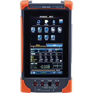 Handheld-Oszilloskop GDS-307, 70 MHz, 2 Kanäle, Multimeter GW-INSTEK GDS-307