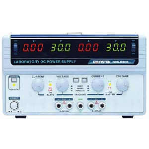 Linear DC Power Supply, 2 Ch, 3 A, 30 V GW-INSTEK 01PS230310GS