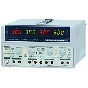 Labornetzgerät, 0 - 30 V, 0 - 3 A, linear GW-INSTEK 01PS430310GS