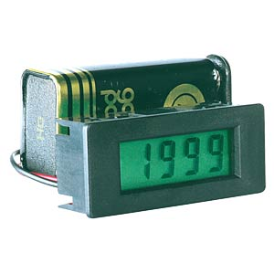 LCD module, 3-1/2 digit, 8 mm, without backlight PEAKTECH LDP-335