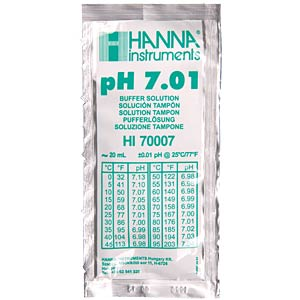 Kalibrier-Kit pH 4,01 und pH 7,01 HANNA INSTRUMENTS HI 77400P