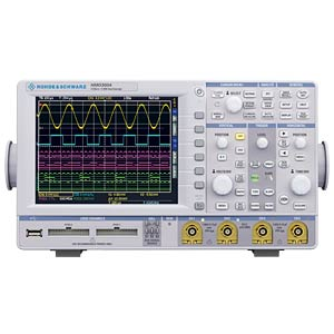 Mixed-signal oscilloscope, 500 MHz, 4 channel ROHDE & SCHWARZ 3593.1664.02