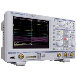 R&S®HMO1222 — 200-MHz oscilloscope, 2 channels ROHDE & SCHWARZ 3593.8700.02