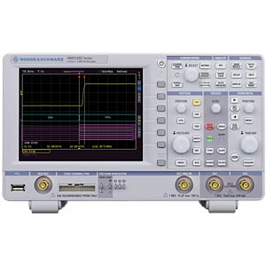 R&S®HMO1232 — 300-MHz oscilloscope, two channels ROHDE & SCHWARZ