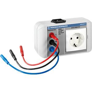 Netzadapter für HMC8015-Serie, EU-Stecker ROHDE & SCHWARZ 3593.8852.02