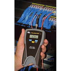 Kabeltester FiberMASTER, für Glasfasernetze IDEAL INDUSTRIES NETWORKS 33-928