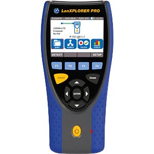 Kabeltester LanXPLORER Pro, für Kupfer- und Glasfasernetze, Set IDEAL INDUSTRIES NETWORKS 150001