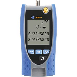 VDV II Basic, Kabeltester IDEAL INDUSTRIES NETWORKS R158000