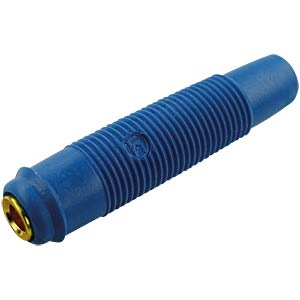 4 mm koppeling, tot 2,5mm², verguld, blauw HIRSCHMANN TEST & MEASUREMENT 931804702