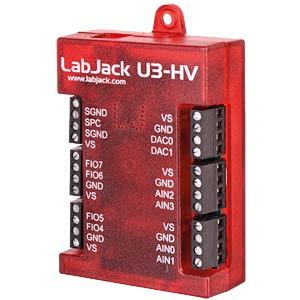 USB-Messlabor LabJack U3, 16 I/O-Leitungen, USB MEILHAUS LABJACK U3-HV