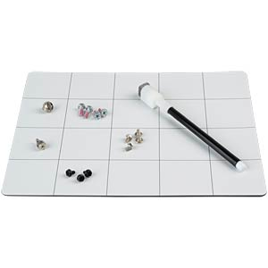 Magnetic project work mat, 20 x 25 cm SPROTEK STE-13