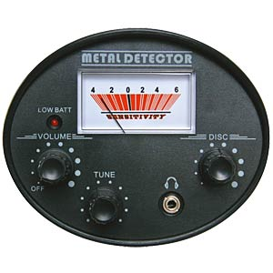 Metalldetektor, analog VELLEMAN CS130