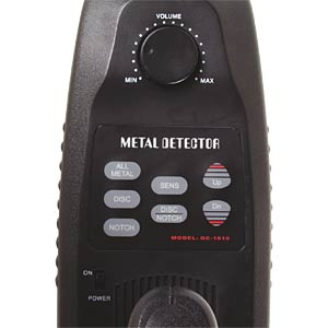 Metalldetektor CS200, digital, mit LCD VELLEMAN CS200