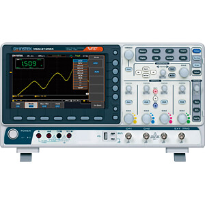 Digital Storage Oscilloscope, 100 MHz, 4 channels, spectrum anal GW-INSTEK MDO-2104EX