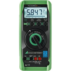 Multimeter METRAHIT 2+, digital, 6000 Counts, TRMS GOSSEN METRAWATT M205A