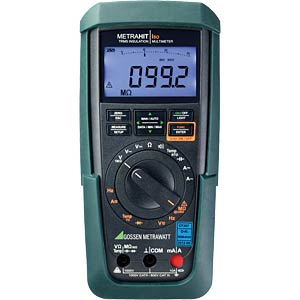 Multimeter METRAHIT ISO, digital, 30000 Counts GOSSEN METRAWATT M246B