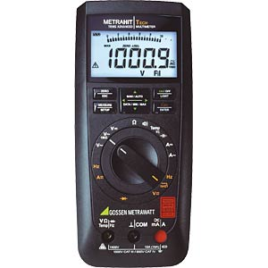 Multimeter METRAHIT TECH, digital, 12000 Counts, TRMS GOSSEN METRAWATT M243A