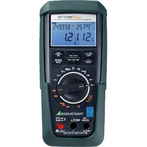Multimeter METRAHIT ULTRA, digital, 310000 Counts, TRMS GOSSEN METRAWATT M248A