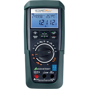 Multimeter METRAHIT PM PRIME, digital, 310000 Counts, TRMS GOSSEN METRAWATT M248A