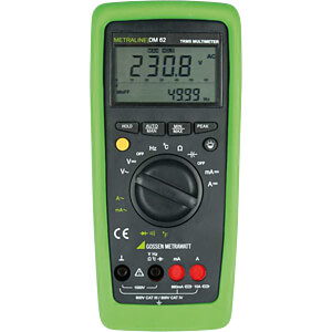 Multimeter METRALINE DM62, digital, 6600 Counts, TRMS GOSSEN METRAWATT M197A