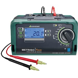 Test instrument for insulation, low-resistance and voltage GOSSEN METRAWATT M550P