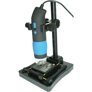 Stand/holder for digital microscopes with LED FREI