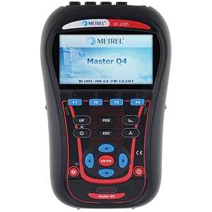 Vermogensanalysator MI 2885 EU, complete set, 4 kanalen METREL 20992469