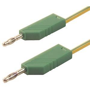 Messleitung, 2,5 mm², 0,5 m, gelb/grün HIRSCHMANN TEST & MEASUREMENT 934061188