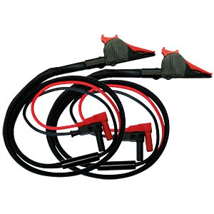 Messleitung, Kelvin, rot / schwarz ELECTRO PJP 5066/KELVIN-250