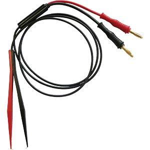 Messleitung, Tweezer, rot / schwarz ELECTRO PJP 430