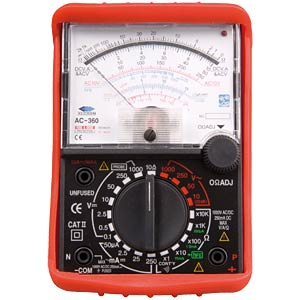 Analog-Multimeter FREI