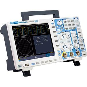 Digital-Speicher-Oszilloskop, 60 MHz, 2 Kanäle, Touchscreen PEAKTECH P 1355