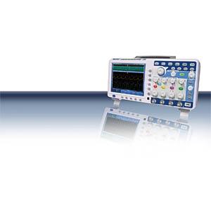 4-Kanal Oszilloskop, 100MHz mit Touch-Screen PEAKTECH P 1295