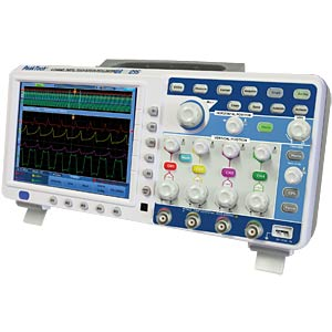 4-channel oscilloscope, 100 MHz with touch screen PEAKTECH P 1295