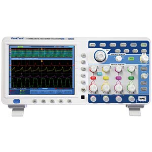 4-channel oscilloscope, 200 MHz with touch screen PEAKTECH P 1300