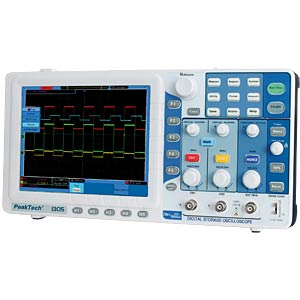 70 MHz/2-channel digital storage oscilloscope PEAKTECH P 1305