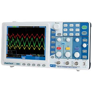 125 MHz/2-channel digital storage oscilloscope PEAKTECH P 1310