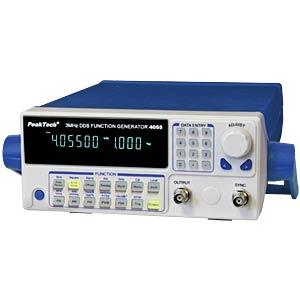 Funktionsgenerator, DDS, mit 10W-Verstärker, 10 µHz ... 3 MHz PEAKTECH P 4055 MV