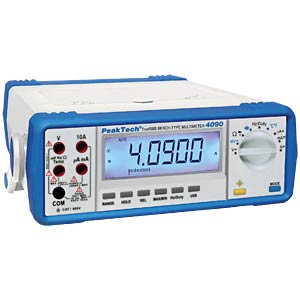 Tischmultimeter, digital, 22000 Counts PEAKTECH P 4090