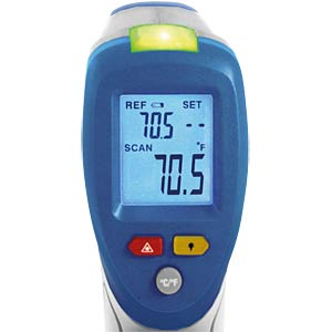 IR difference thermometer, -50 - +380°C PEAKTECH P 4945