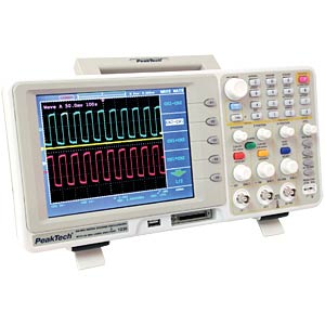 200 MHz/2-channel digital storage oscilloscope, KL PEAKTECH 1230